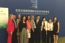 Le MENE en Chine au Forum Women Leaders in Ecology and Development 2018